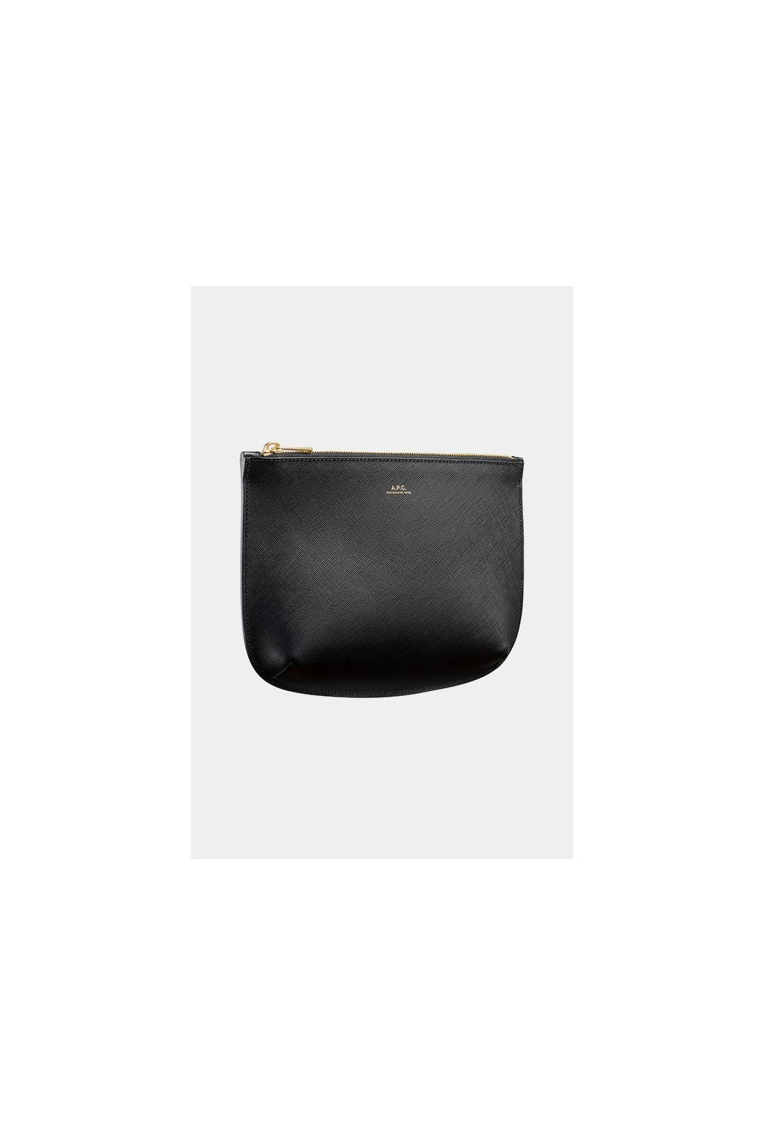A.P.C. FOR WOMAN / Pochette sarah Noir