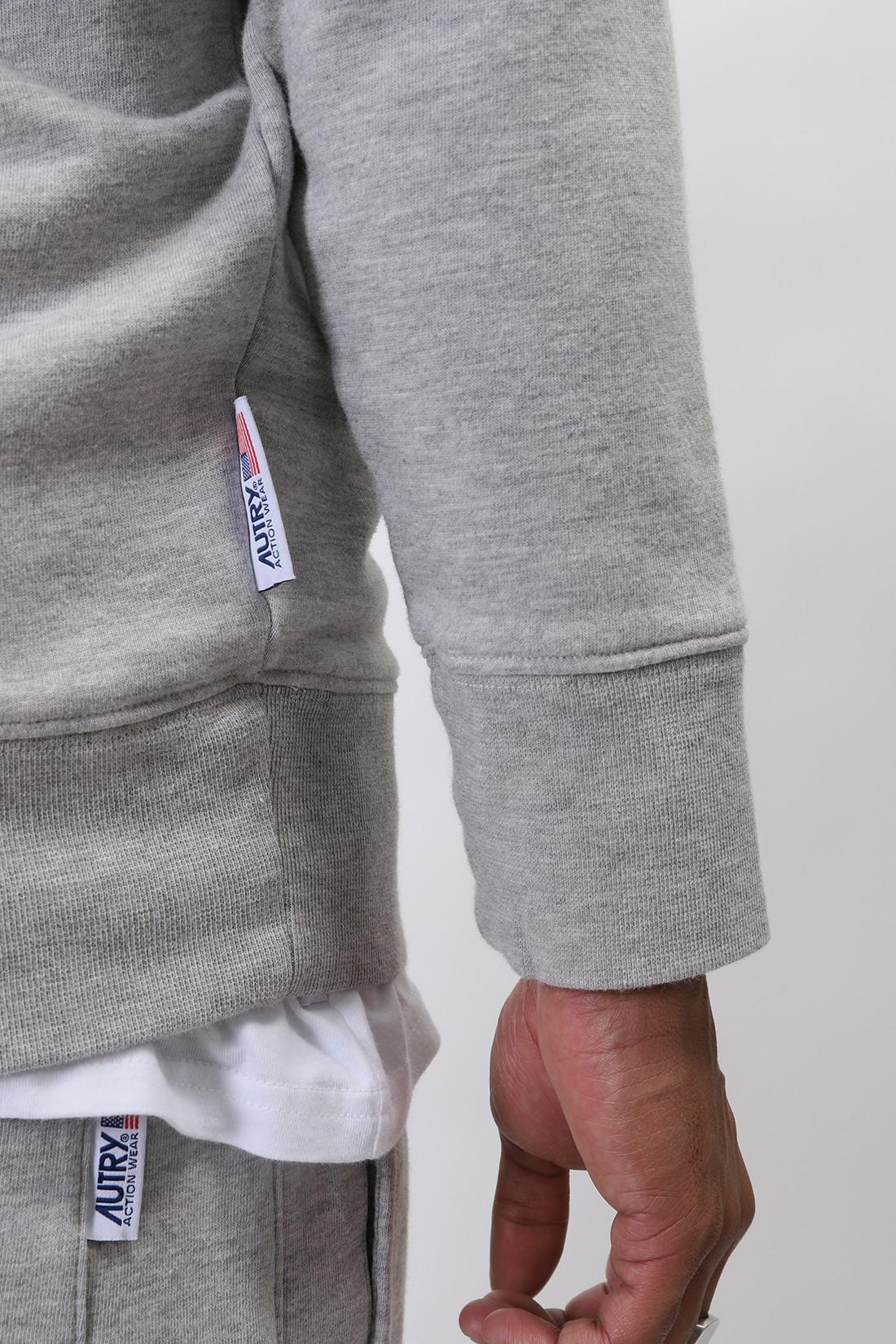 AUTRY / Swxm a11m sweat Grey