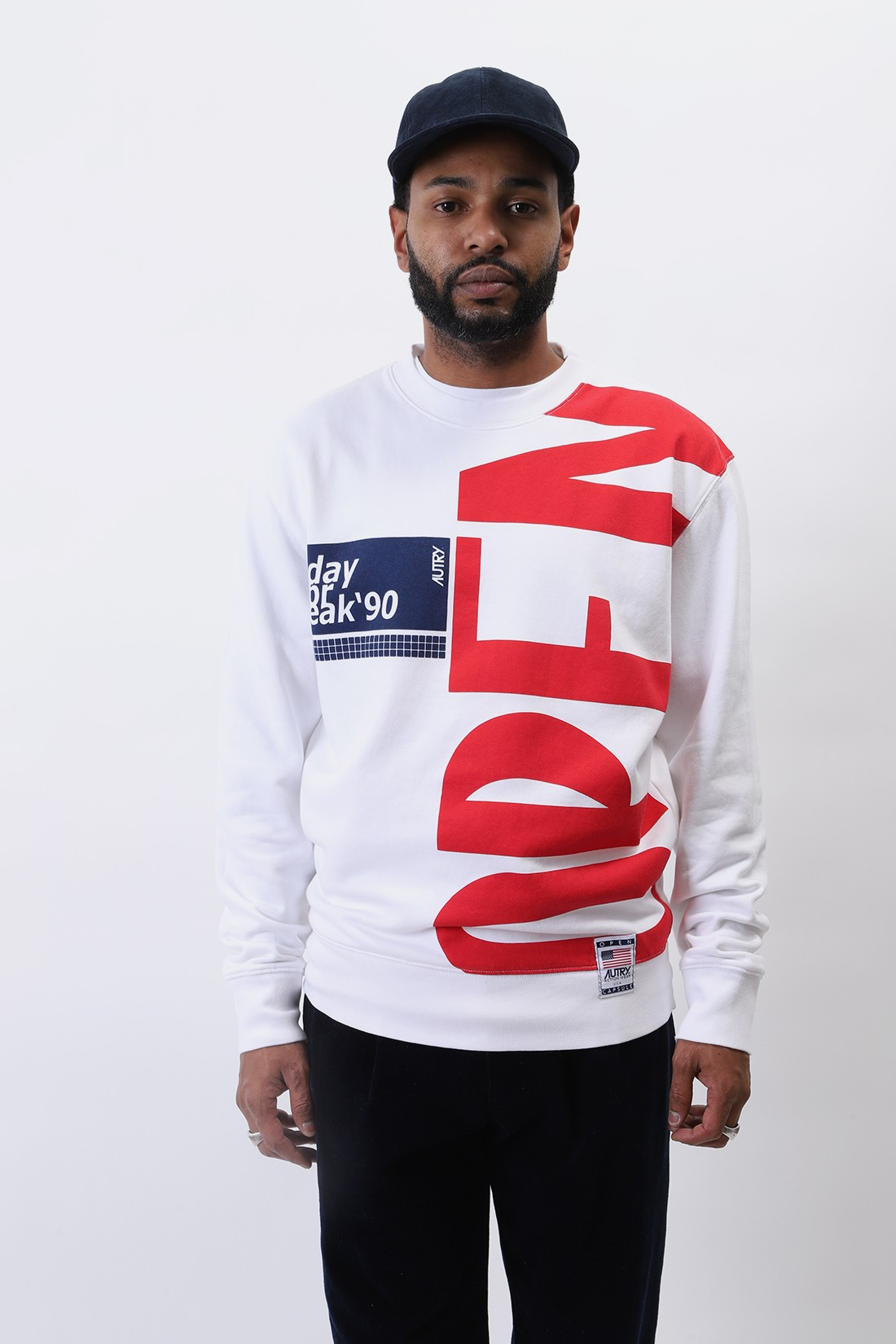 AUTRY / Swxm a10m sweat White