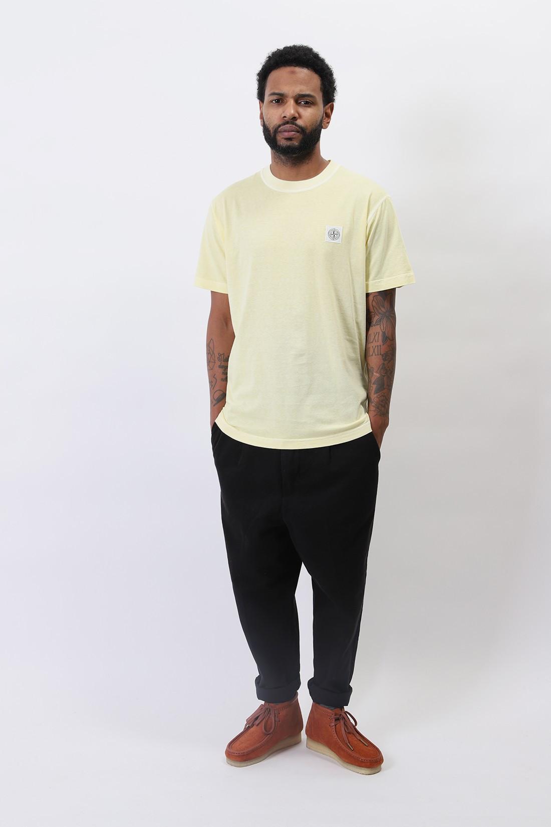 STONE ISLAND / 23757 fissato t-shirt v0131 Limone