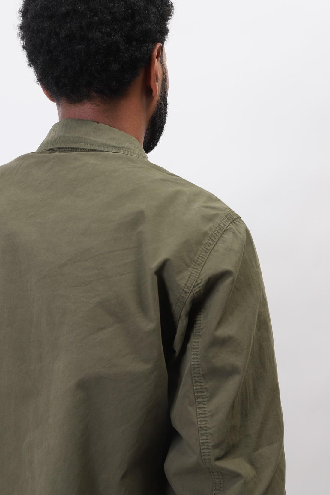 STONE ISLAND / 117wn overshirt v0158 Verde oliva