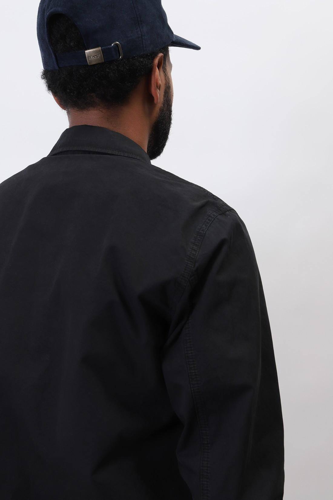 STONE ISLAND / 117wn overshirt v0129 Nero