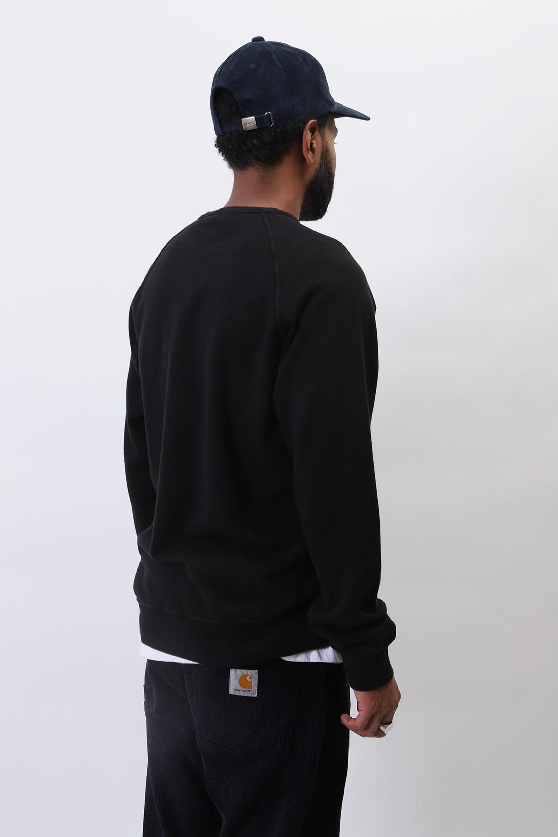 STONE ISLAND / 66060 raglan sweater v0029 Nero