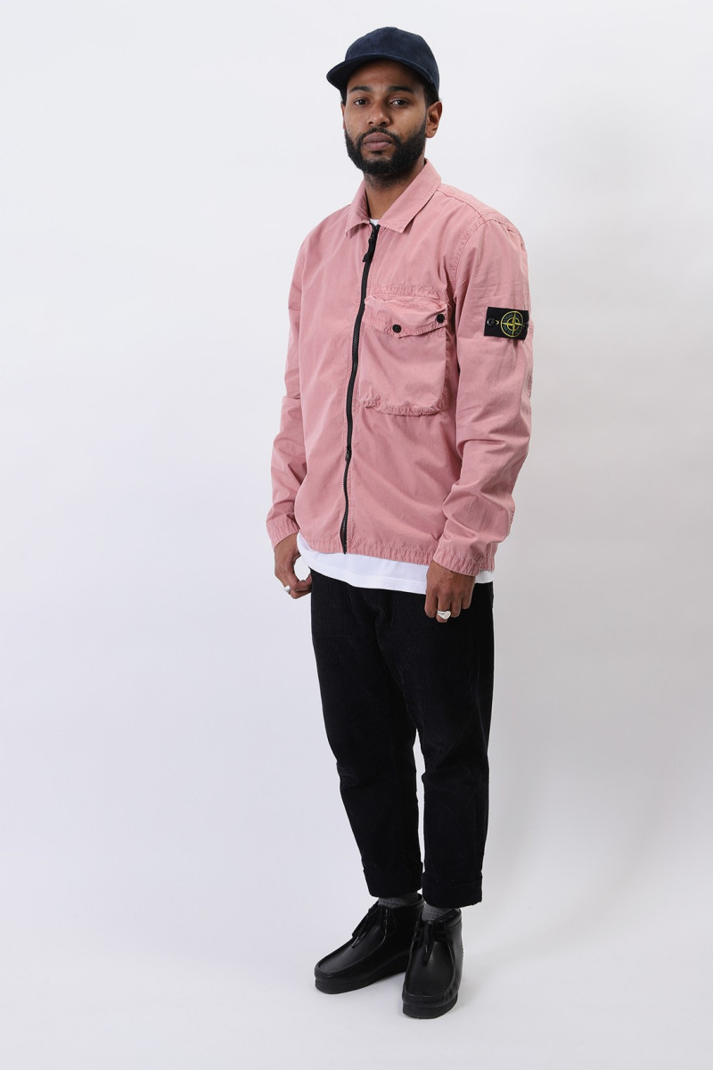 117wn overshirt v0186 Rosa quarzo