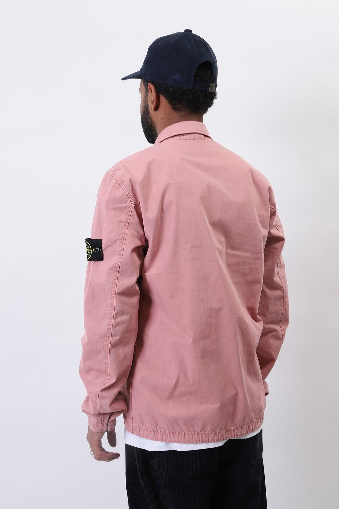 STONE ISLAND / 117wn overshirt v0186 Rosa quarzo