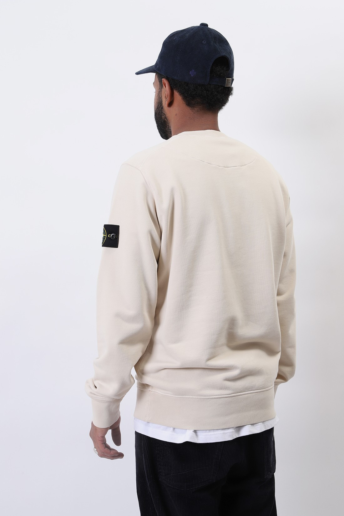 STONE ISLAND / 63051 crewneck sweater v0093 Avorio