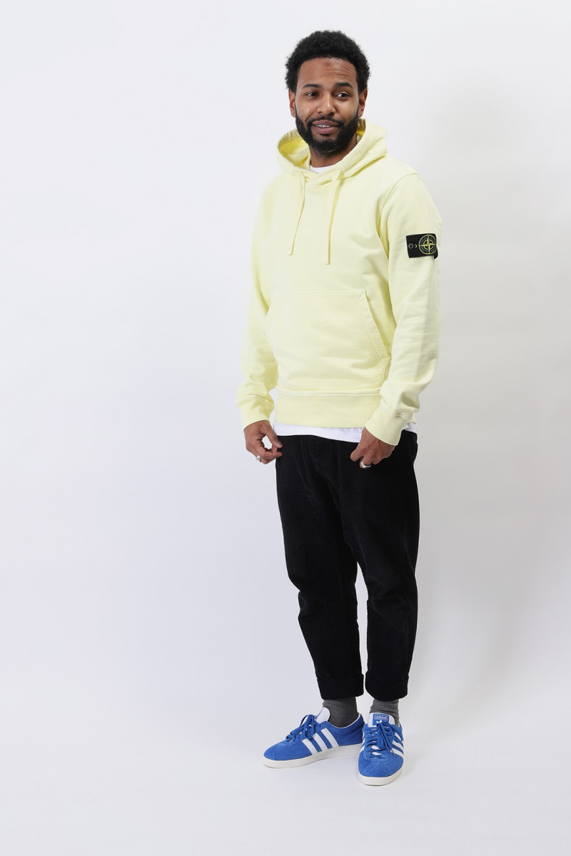 64151 hooded sweater v0031 Limone