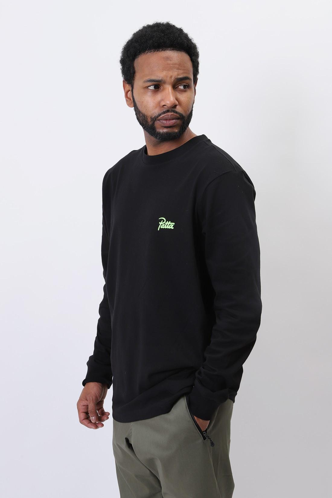 PATTA / Patta inner peace ls tshirt Black