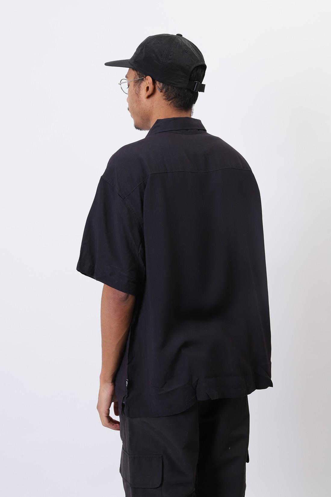STUSSY / Harumi girl shirt Black
