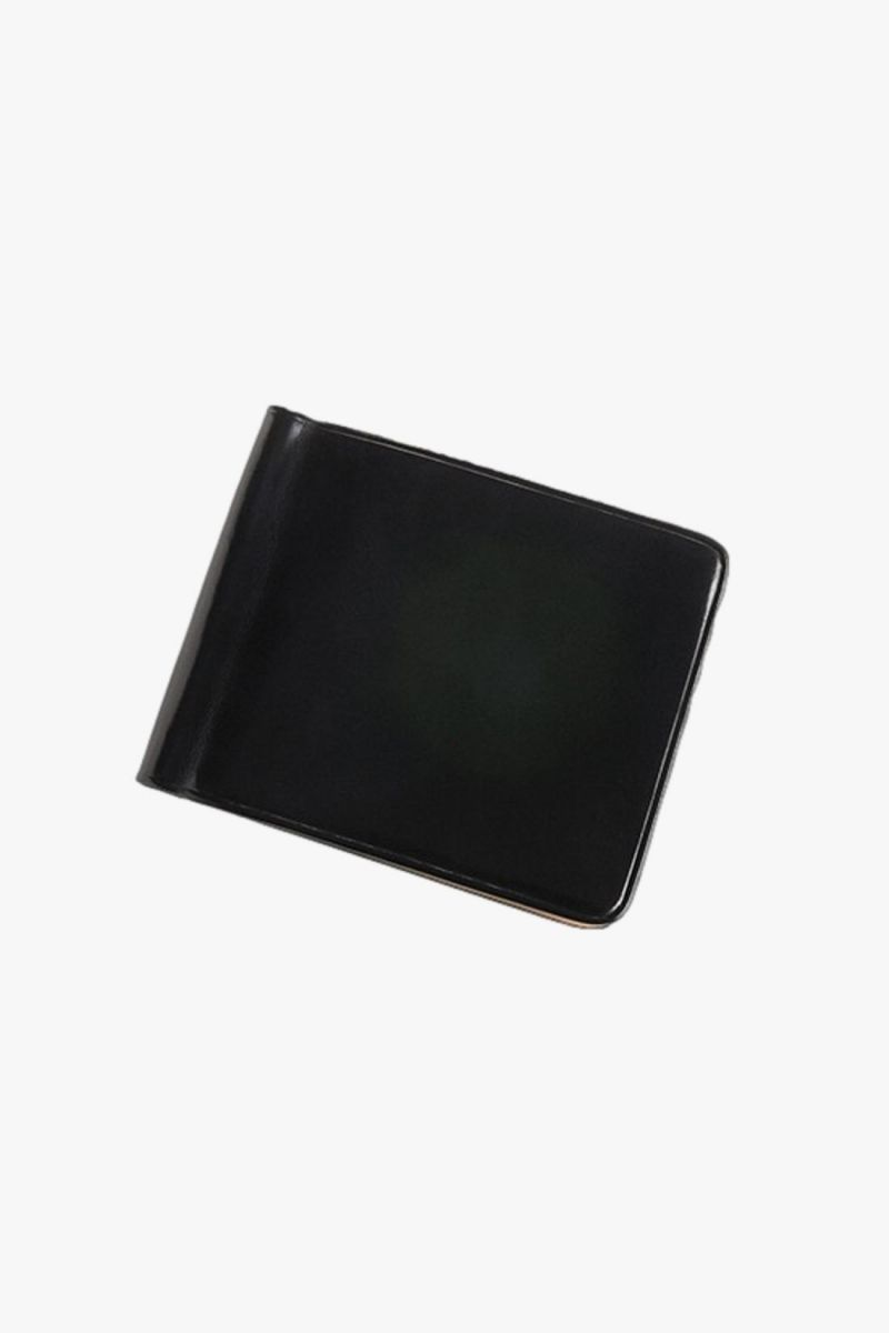 Bill clip wallet Black