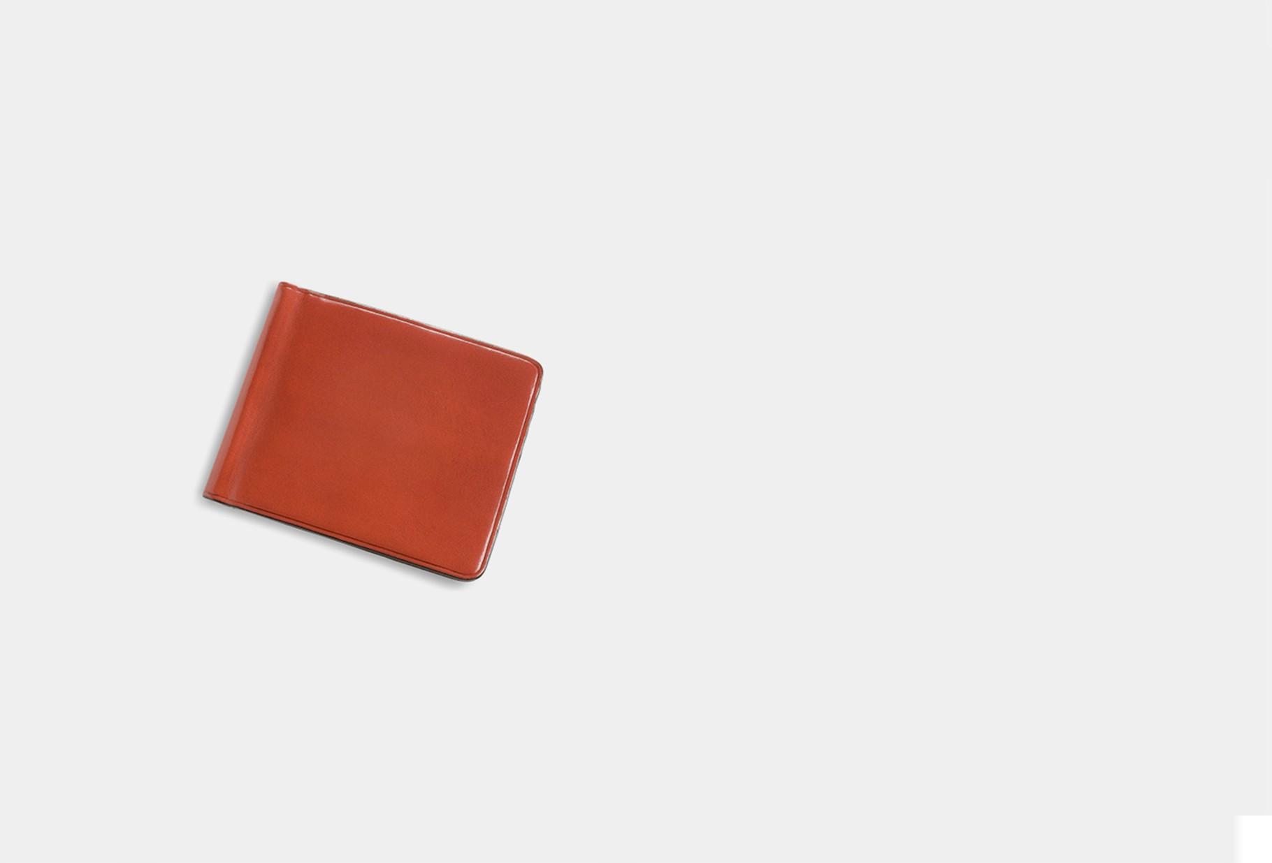 IL BUSSETTO / Bill clip wallet Coralred