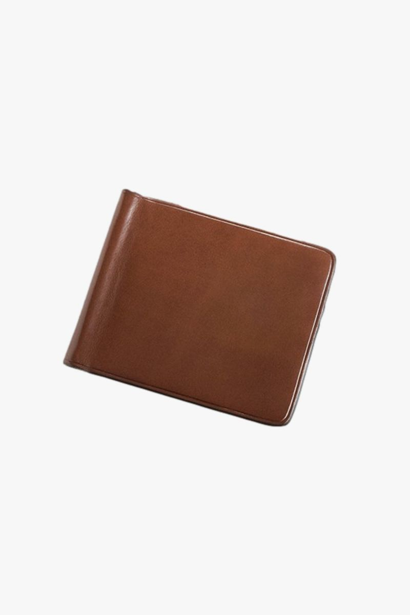 Bill clip wallet Cappuccino