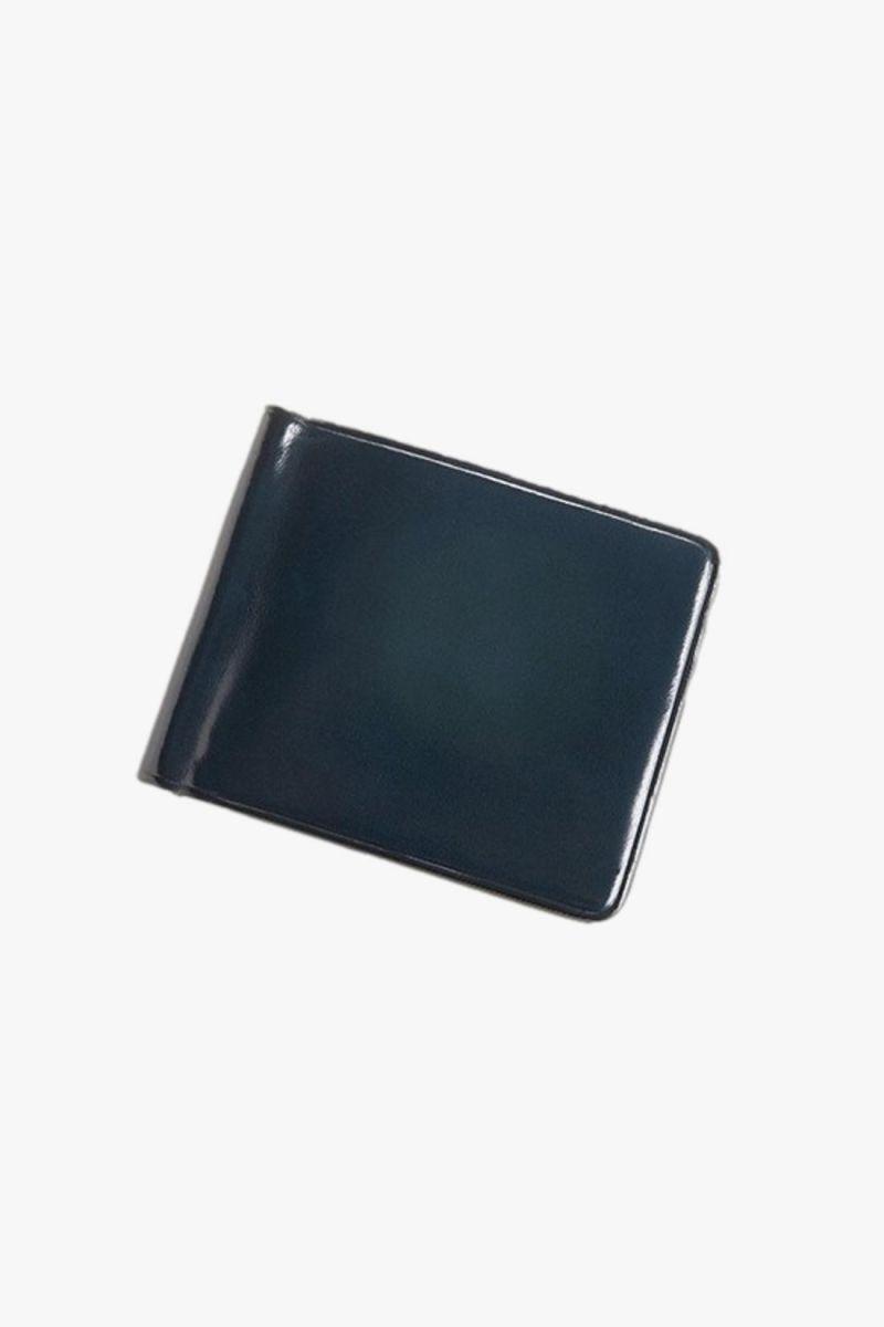 Bill clip wallet Navy blue