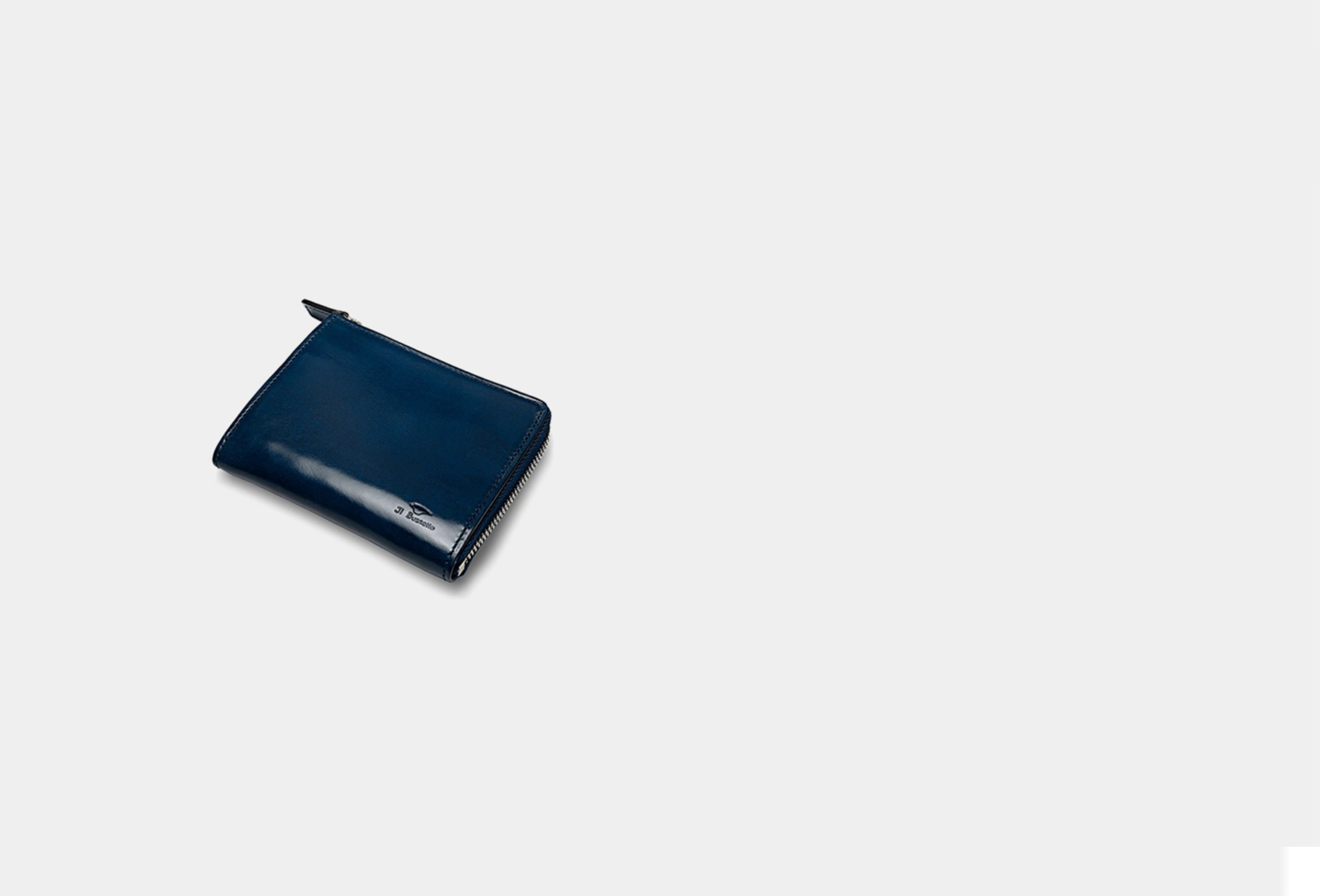 IL BUSSETTO / Isola wallet Poseidon blue