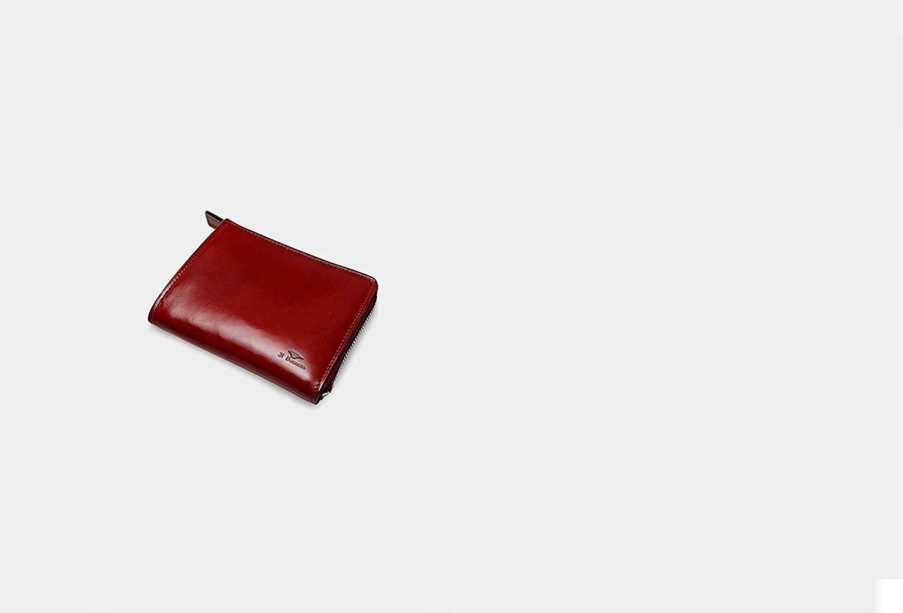 IL BUSSETTO / Isola wallet Tibetan red