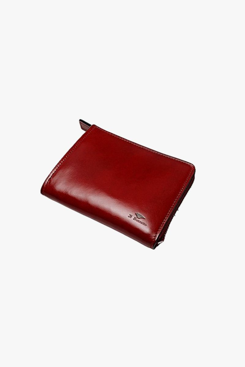 Isola wallet Tibetan red