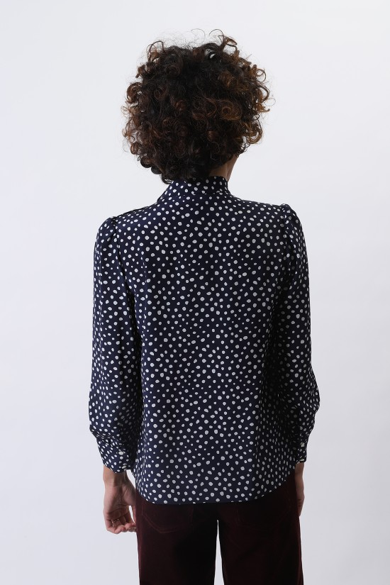 A.P.C. FOR WOMAN / Blouse jenny Dark navy