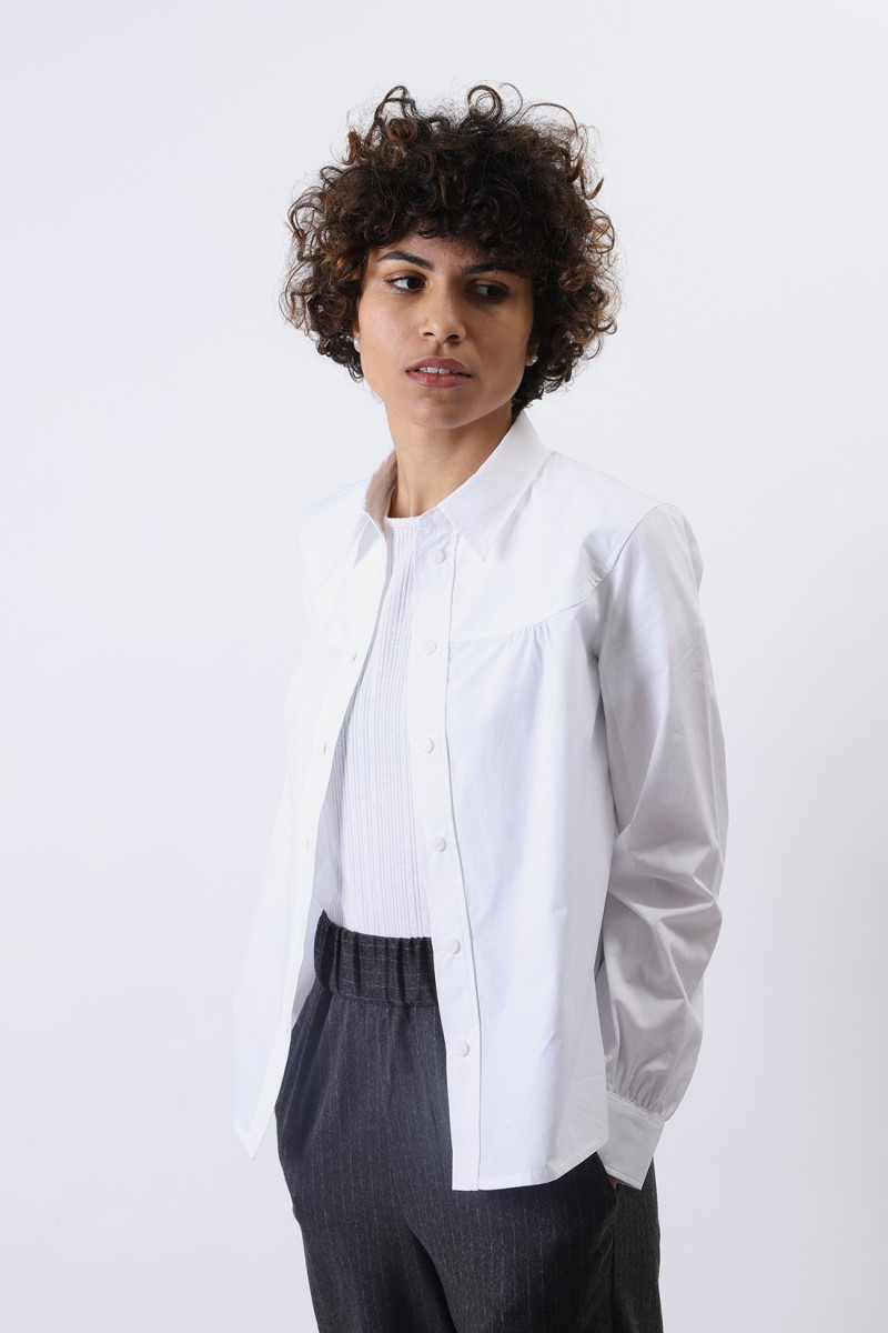 Chemise pascale Blanc