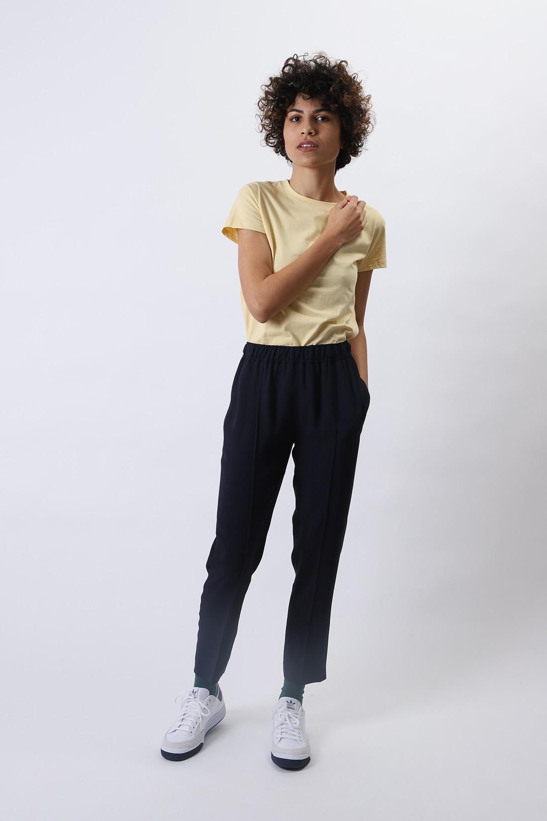 A.P.C. FOR WOMAN / Pantalon garance Dark navy