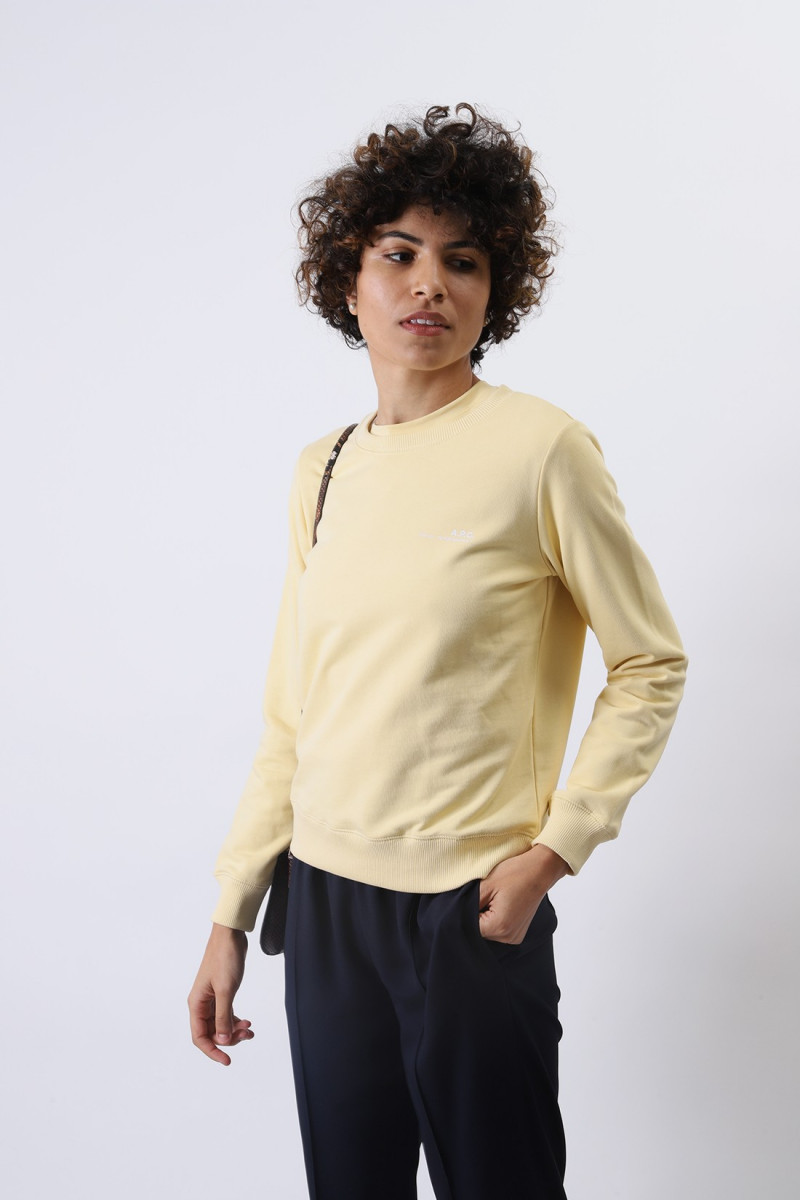 Sweat item Jaune