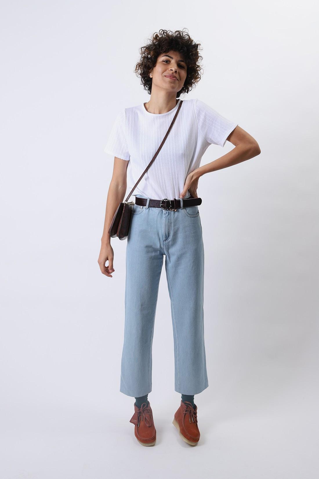 A.P.C. FOR WOMAN / T-shirt elsie Blanc
