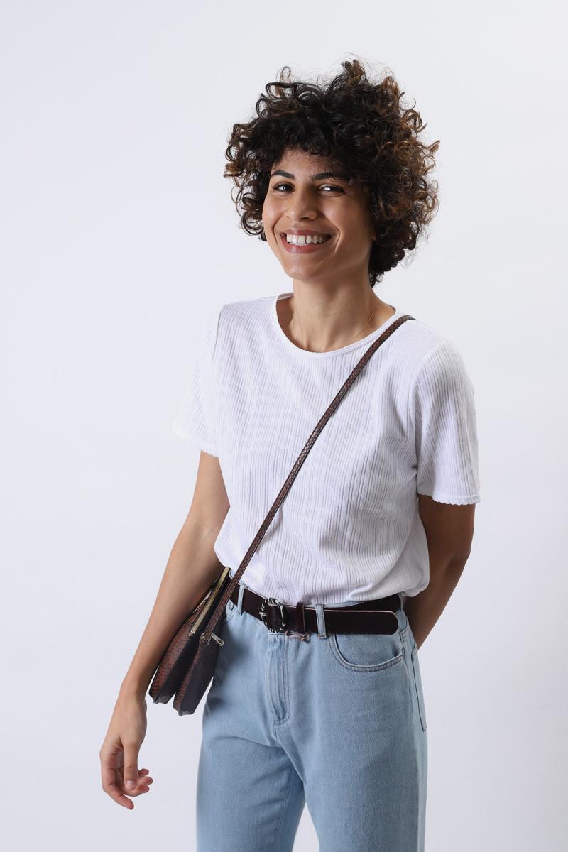 T-shirt elsie Blanc