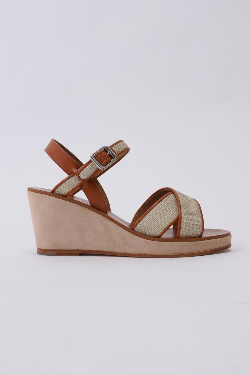 Sandales judith Beige
