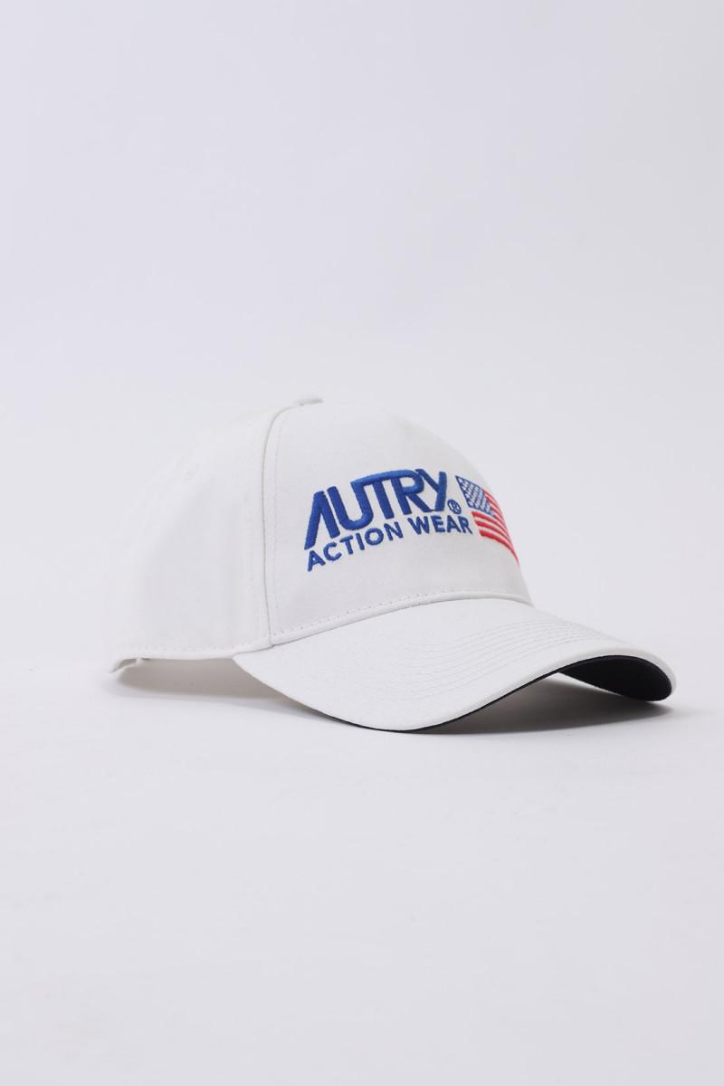 Autry cap unisex White