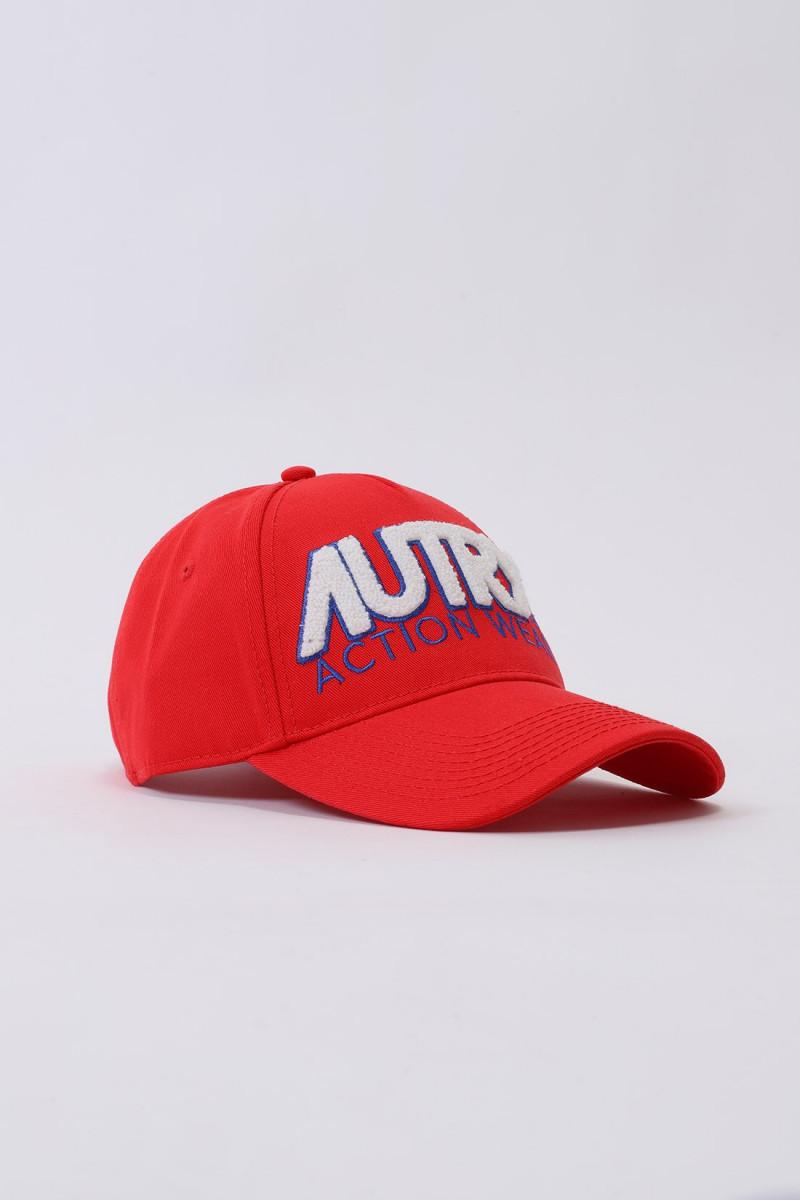 Autry cap unisex Red