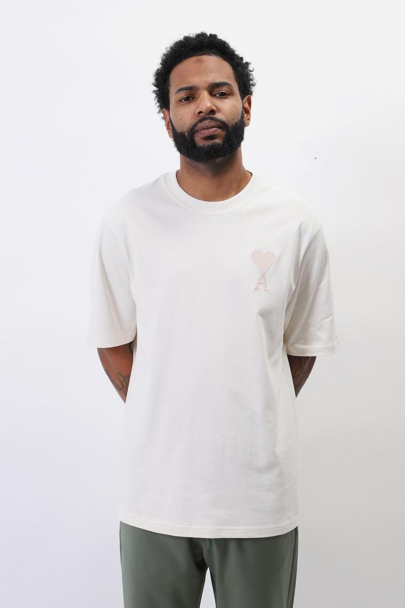 T-shirt ami de coeur Ecru