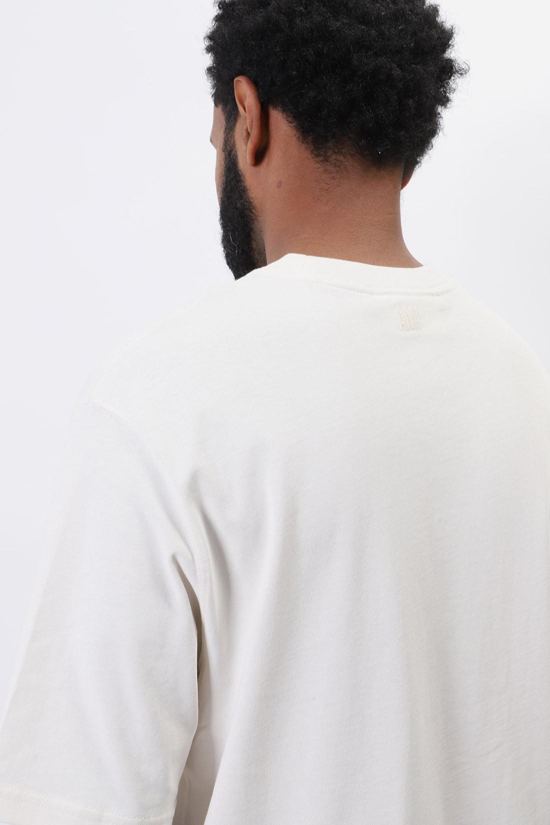 AMI / T-shirt ami de coeur Ecru