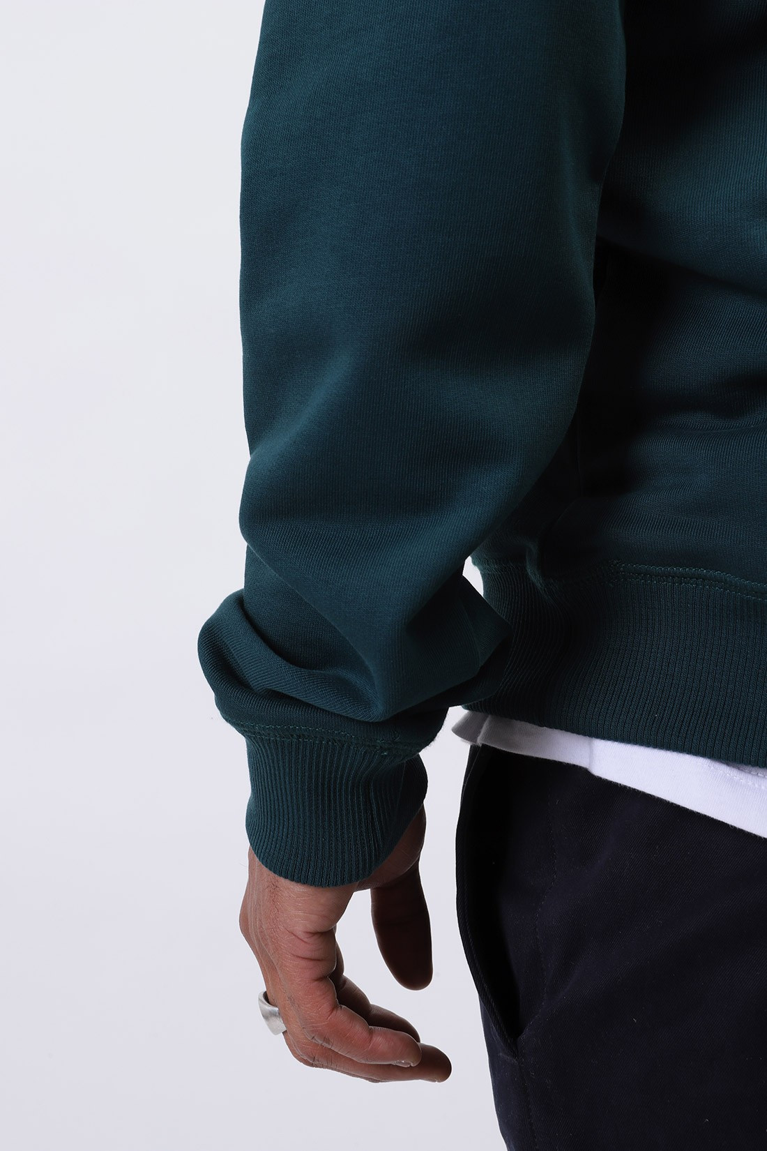 A.P.C. / Sweat item Vert fonce
