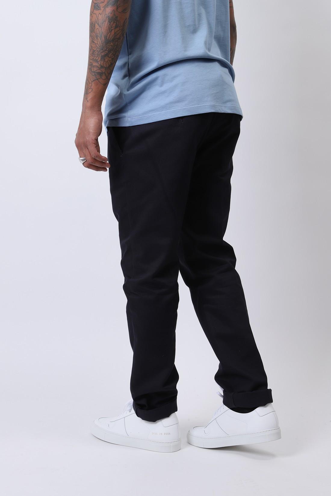 AMI / Pantalon chino Marine
