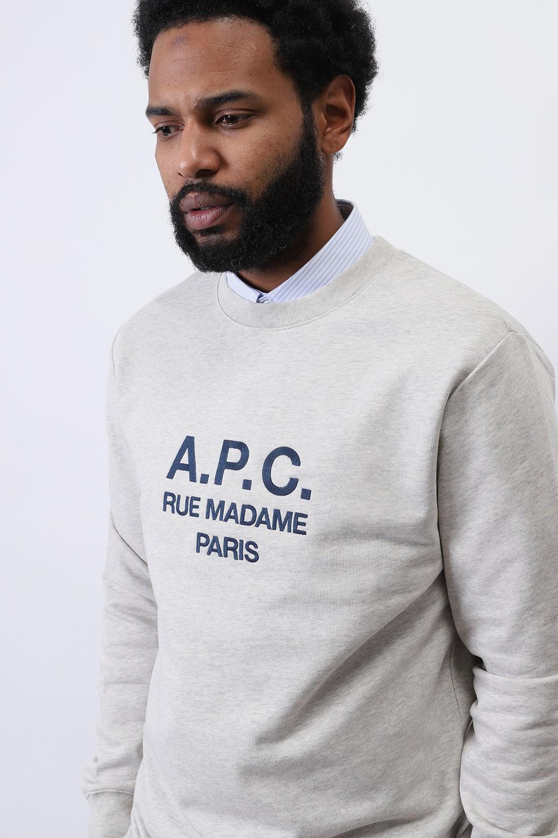 A.P.C. / Sweat rufus Ecru chine