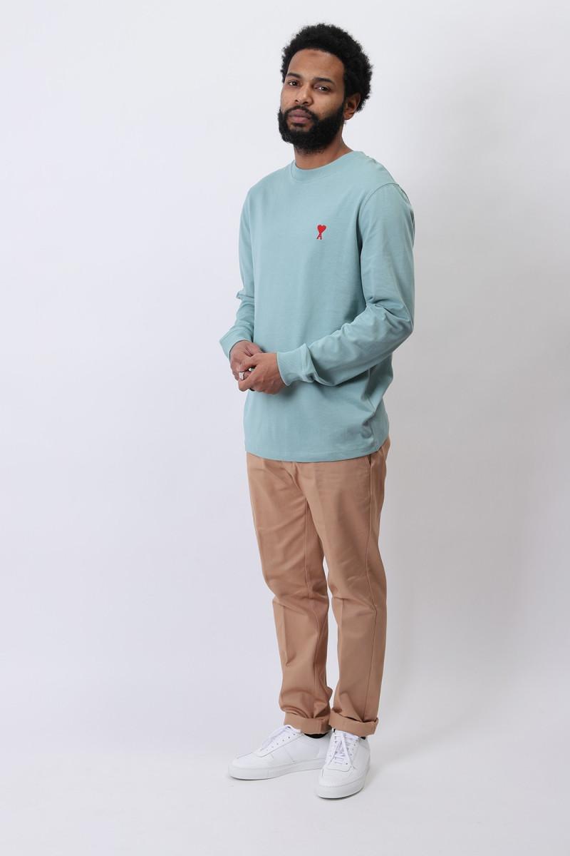 Ami de coeur ls t-shirt Green aqua