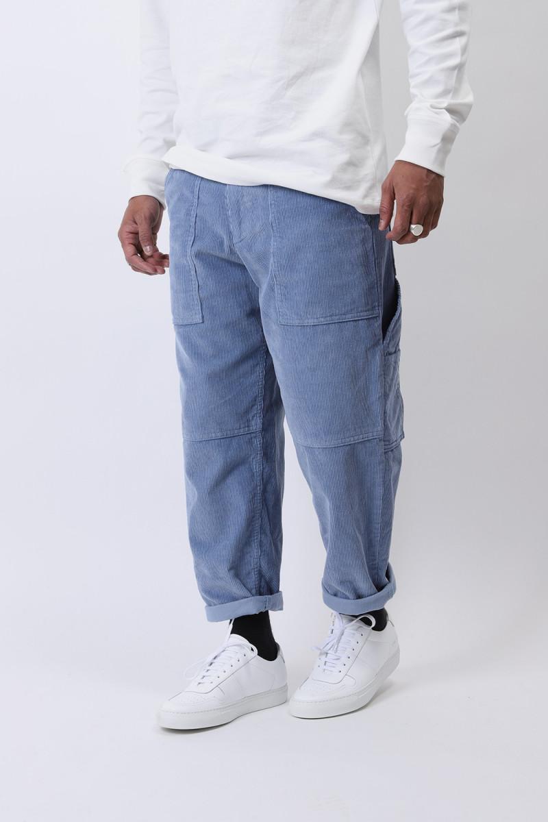 Pantalon worker corduroy Bleu ciel