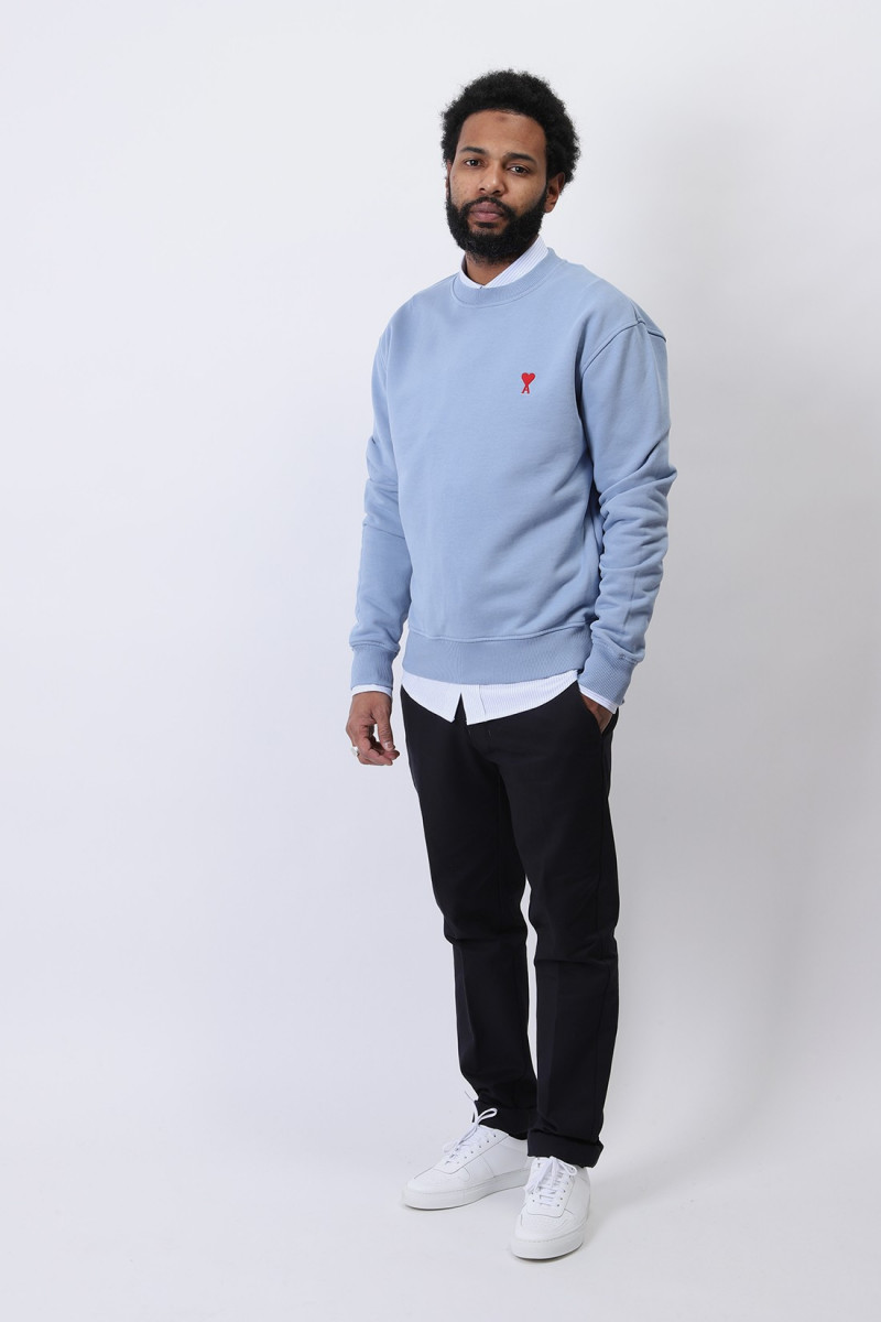 Sweatshirt ami de coeur Bleu ciel