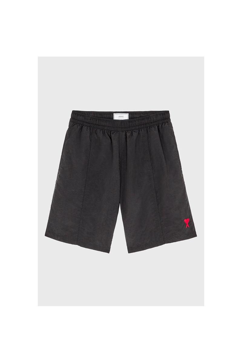Ami de coeur long swim shorts Noir