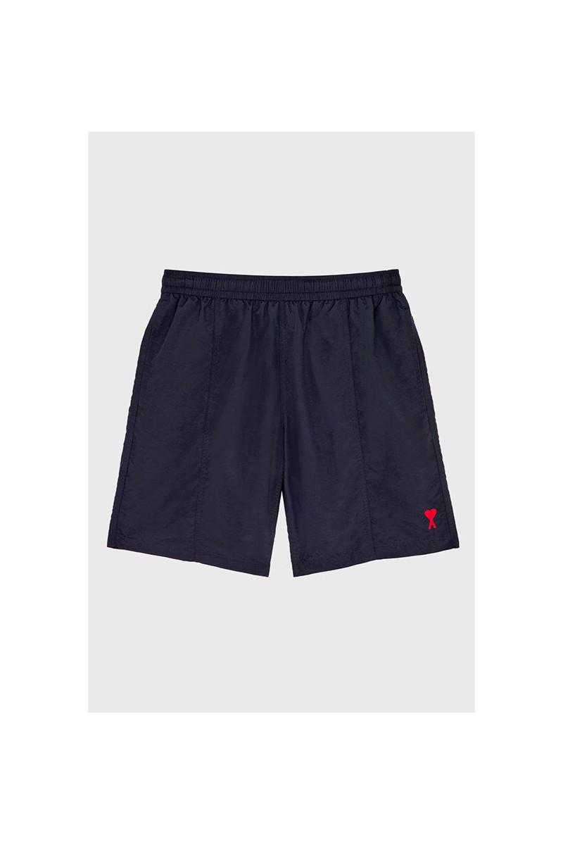 Ami de coeur long swim shorts Marine