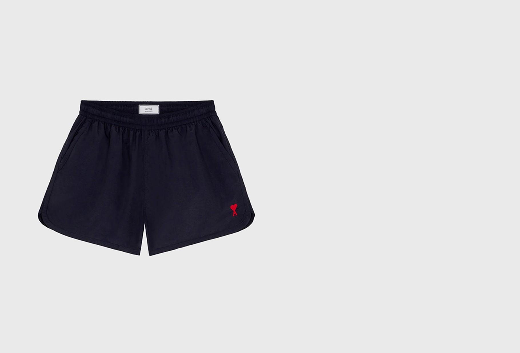AMI / Ami de coeur swim shorts Marine