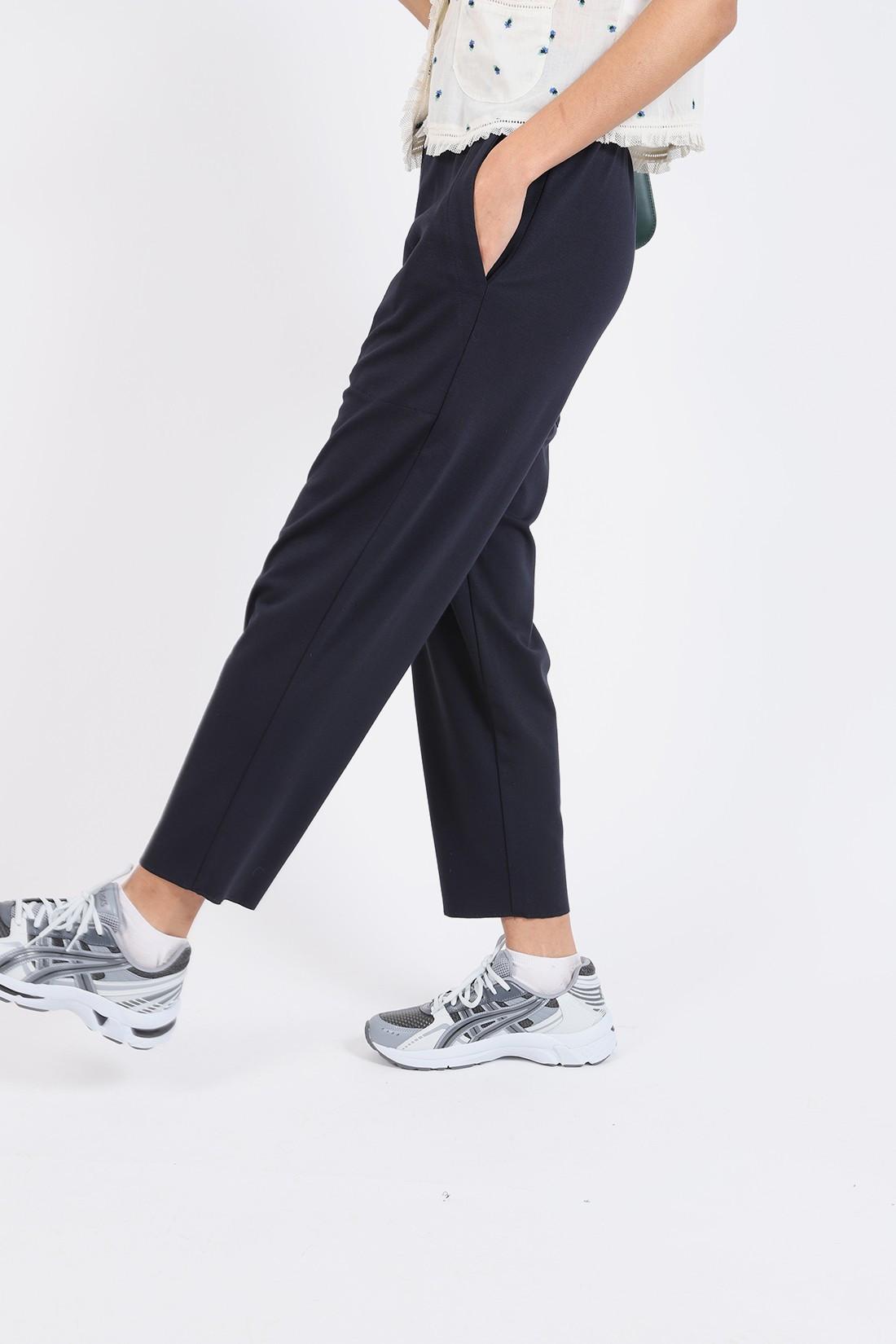 BARENA FOR WOMAN / Pantalon joie isso Navy