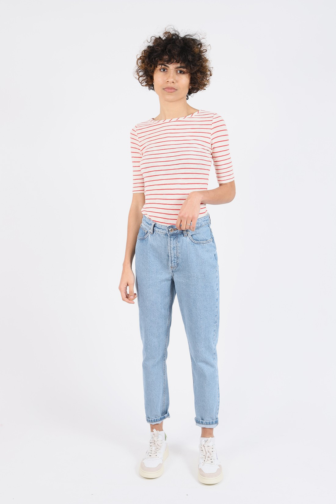 BELLEROSE FOR WOMAN / T-shirt seas Stripe c