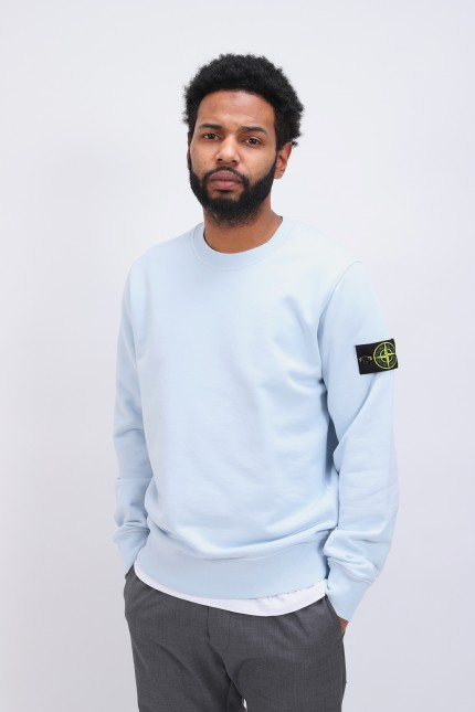 63051 crewneck sweater v0041 Cielo