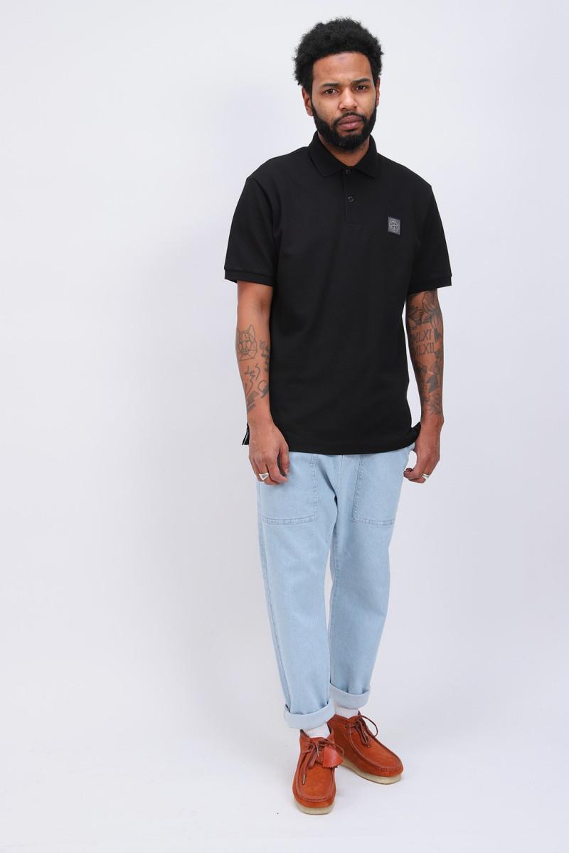 22r39 polo shirt v0029 Nero