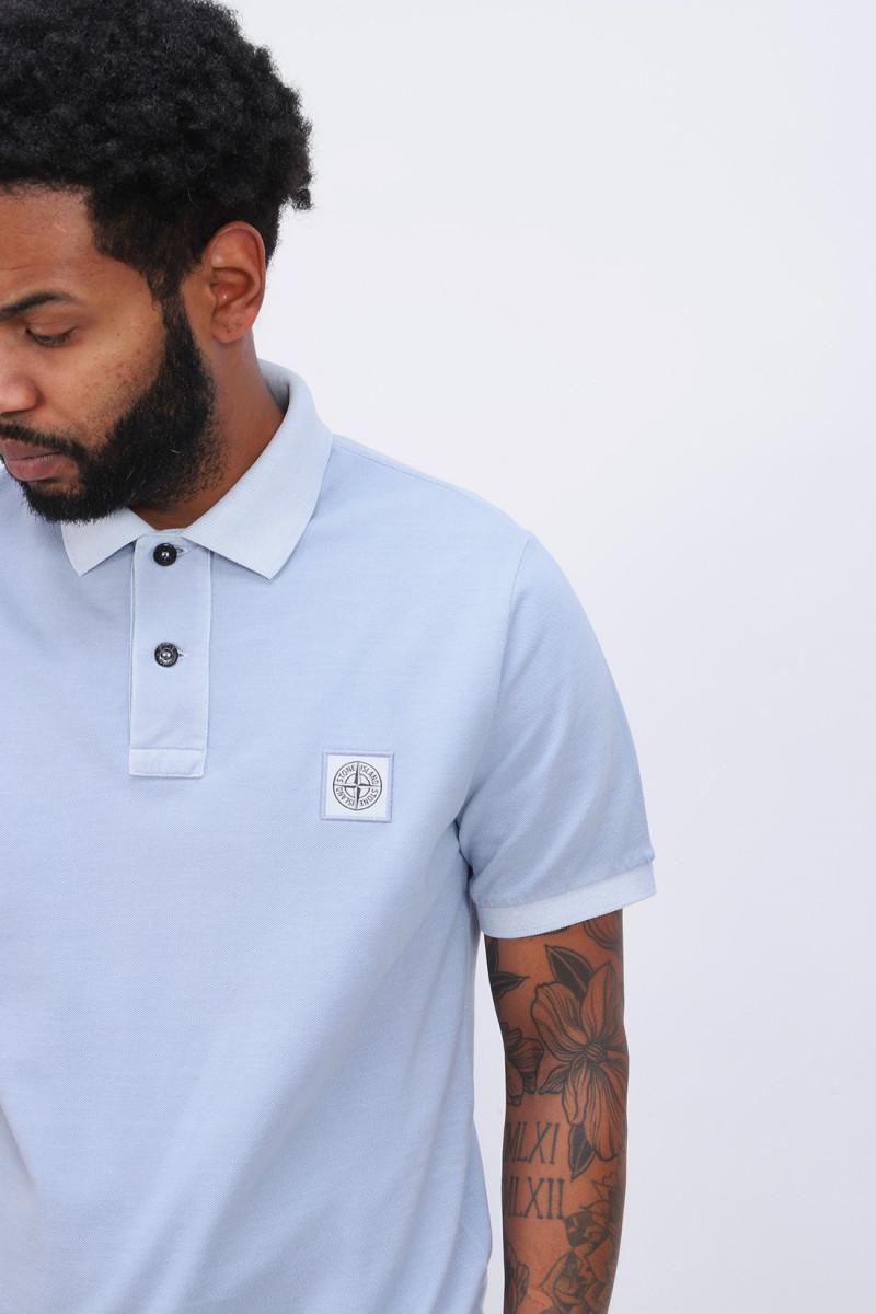 22s67 polo shirt v0041 Cielo