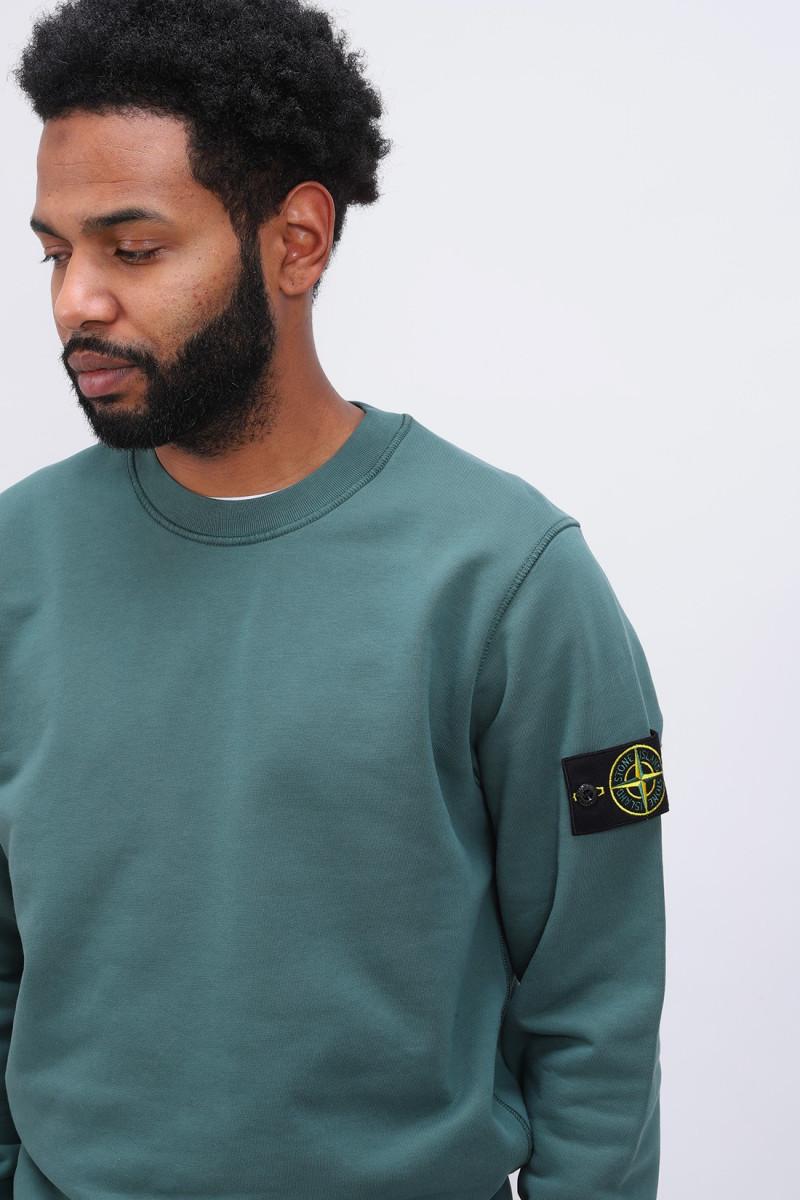 63051 crewneck sweater v0057 Petrolio