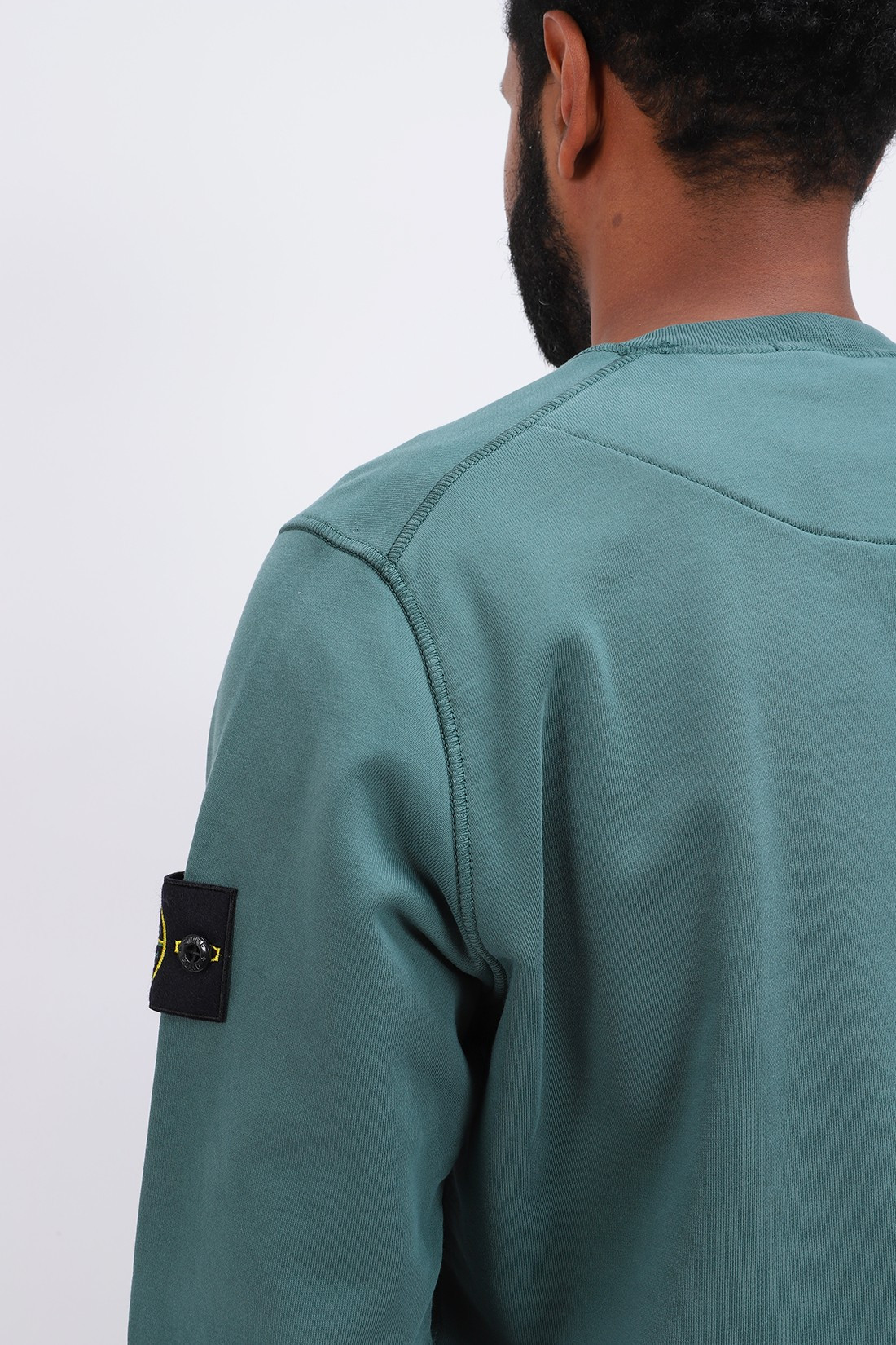 STONE ISLAND / 63051 crewneck sweater v0057 Petrolio