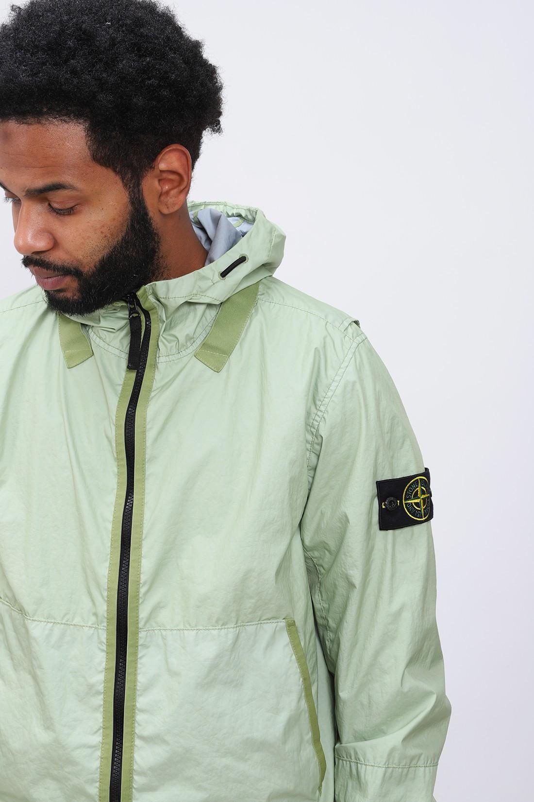 STONE ISLAND / 40523 membrana jacket v0052 Verde chiaro