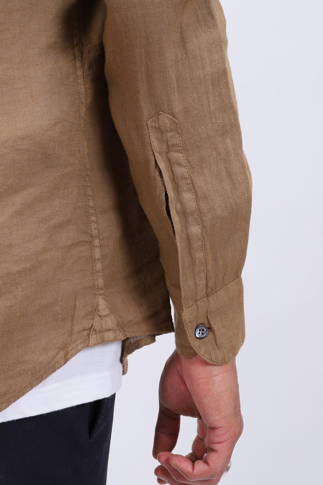 BARENA / Camicia coppi telino Peanut