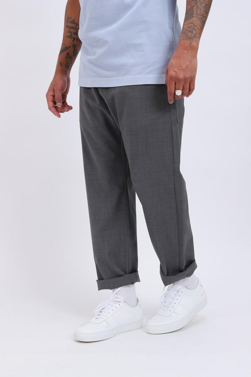 Pantalone bativoga tela Grigio